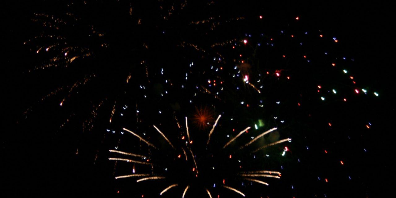 First Fireworks Photos as Salida Celebrates July 4 2020