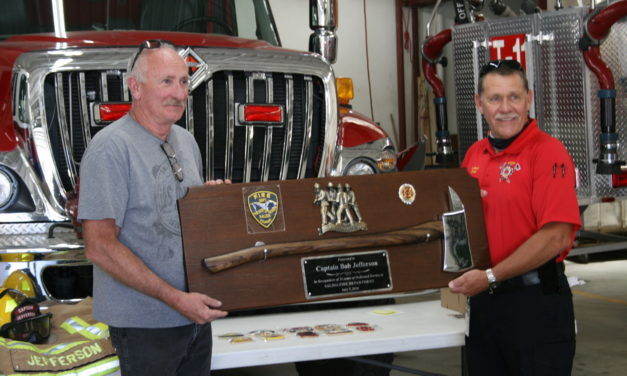 Captain Bob Jefferson Retires After 25 Years With Salida Fire Department