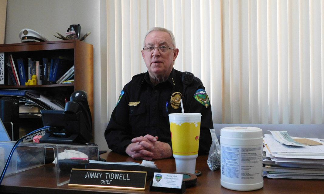 Chief Tidwell retires July 23, Buena Vista Declares a Celebration: July 25 Jimmy Tidwell Day