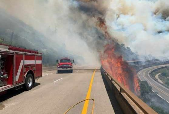 No Name Evacuated as Grizzly Fire Grows, I-70 Remains Closed