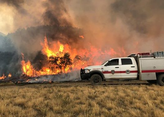 More than 100,000 acres burning across Colorado; Wildfire Fighting Crews In for Long Battles