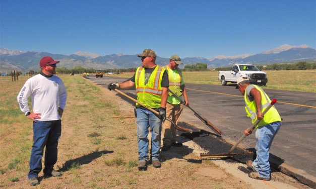 Salida Airport Rehab Work First Phase Completed