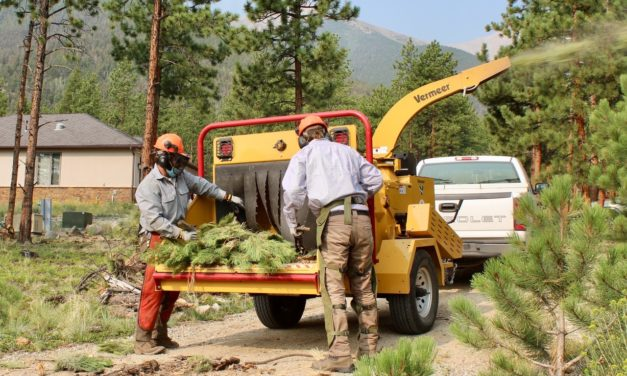 Wildfire property protection: Chaffee Chips sets service dates