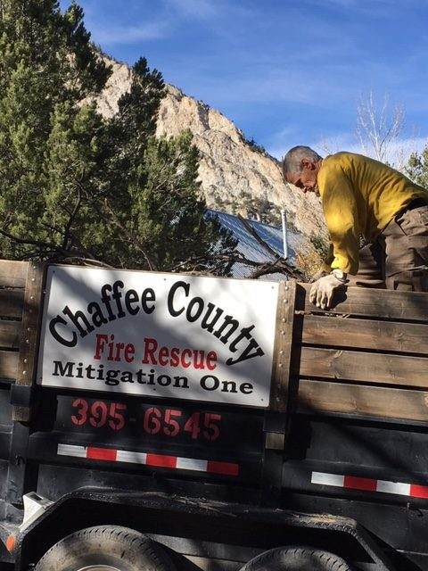 Chaffee Chips Collection Continues in Chalk Creek Canyon
