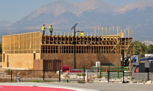 Rocky Mountain Eye Center Work Continues at HRRMC Campus