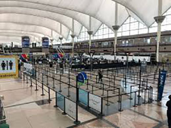 TSA COVID-19 Cases Reported at Denver International Airport