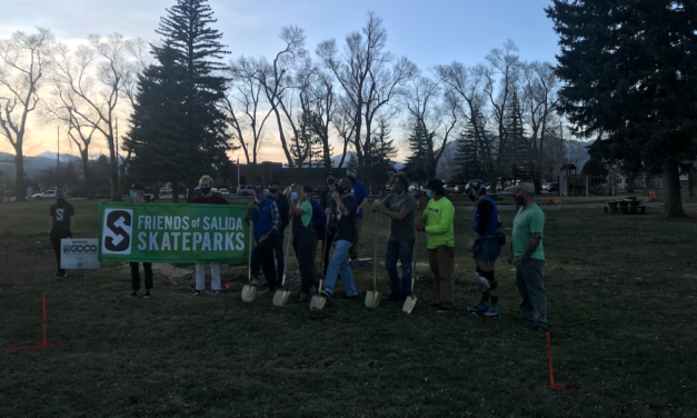 Salida Skatepark Ground Breaking Celebrates New Recreation Opportunity