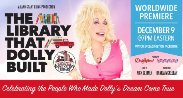 Local Rotaries promote Dec. 9 Facebook screening of the story behind Dolly Parton's Imagination Library