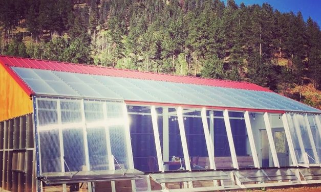 Rocky Mountain Garlic's New Passive Solar Greenhouse and Attached Farm Stand