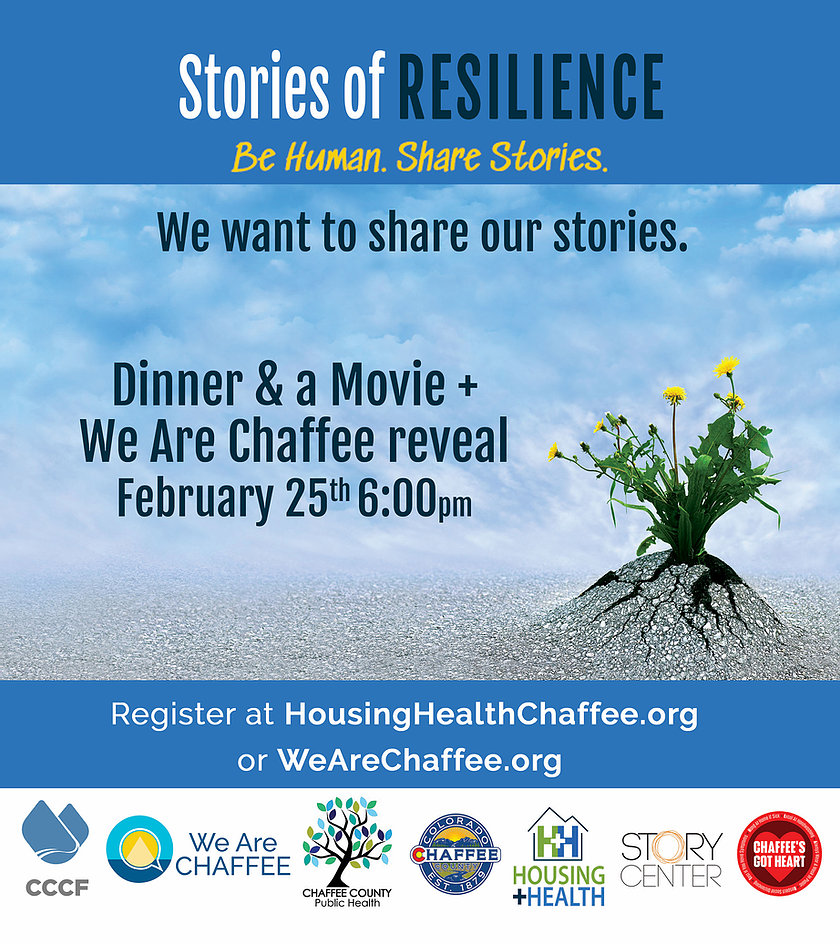 We Are Chaffee Hosts Stories of Resilience Movie Event – by Brooke Gilmore