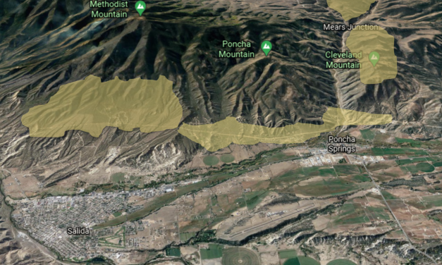 Methodist Mountain Fire Mitigation Underway