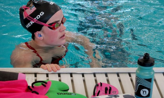 When Coronavirus Postponed The Tokyo Games, This Paralympian Kept Swimming With High Schoolers In Salida