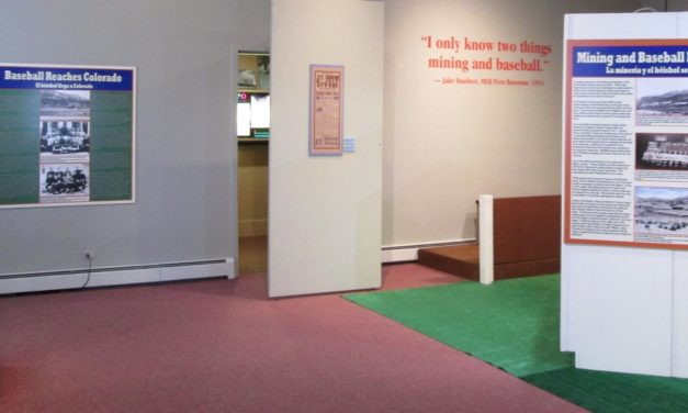 New NMHFM exhibit on the relationship between mining and baseball