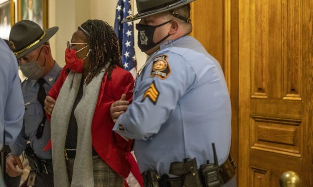 Georgia lawmaker arrested for trying to witness Governor's Bill-signing limiting state voting rights