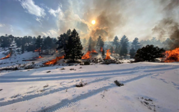 The good news? Community Wildfire Protection Plan is on target and in some places, ahead of schedule