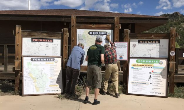 GARNA Friends of Fourmile complete grant work on trail safety, impacts, and etiquette in Buena Vista's Fourmile lands