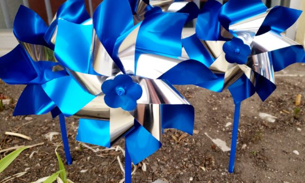April Shines a Blue Spotlight on Child Abuse Prevention Month