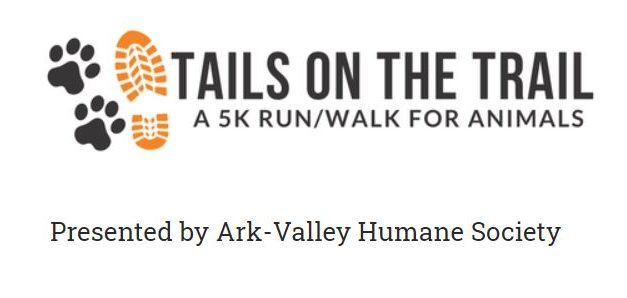 Ark-Valley Humane Society's Fourth Annual Tail on the Trail 5k