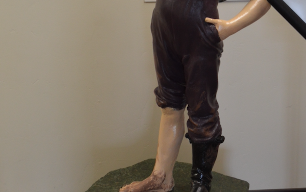 History of Salida's 'Boy With the Boot' Statue