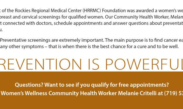 HRRMC Now Offering Free Women's Health Screenings Across Clinic Locations