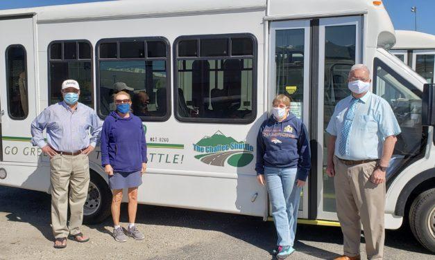 Neighbor to Neighbor/Chaffee Shuttle Receives Chaffee's Got Heart Spotlight