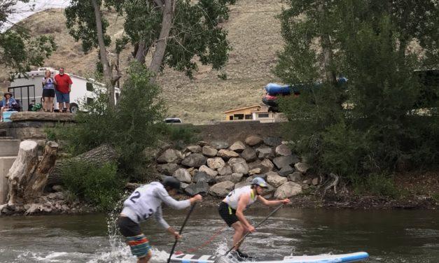 Harvey Family Sweep at FIBArK SUP Dual Slalom