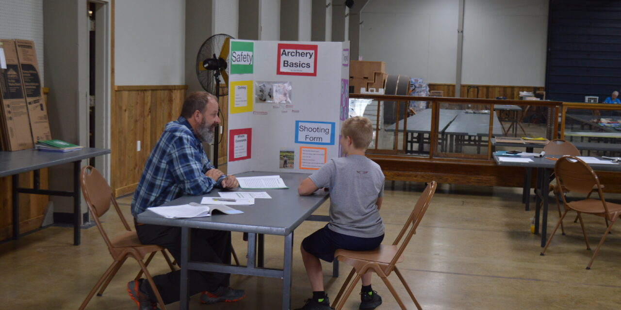 Saturday Hosts 4-H Indoor Projects at the Chaffee County Fair