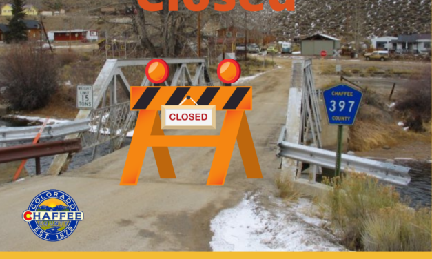 Breaking news: Chaffee County Closes Granite Bridge for Emergency Repairs