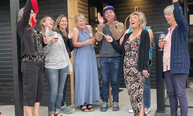 BV Chamber of Commerce holds ribbon-cutting with new member, the Cellar on Railroad