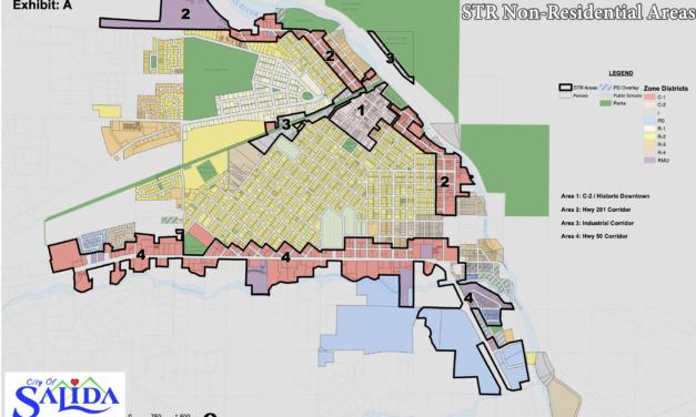 Salida City Council Approves Ordinance that Amends Salida Municipal Code Concerning STRs