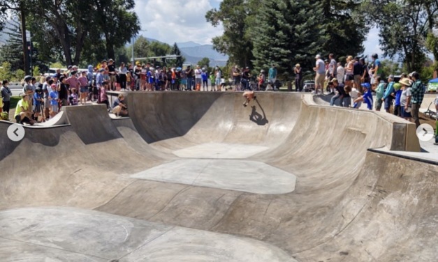 Open Skate Jam Competition in Salida