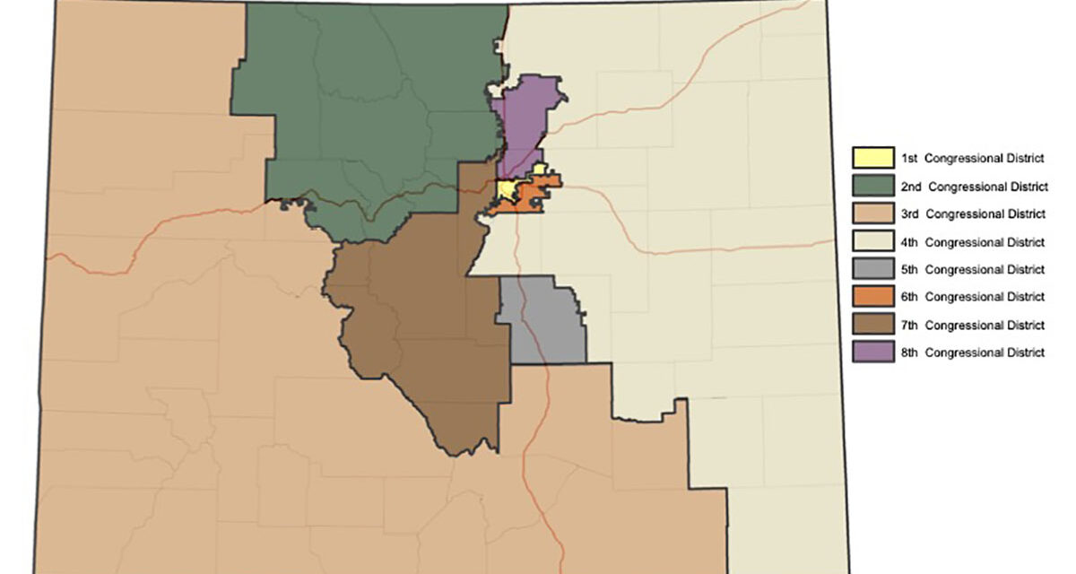 Colorado Redistricting Maps Getting Closer to Final