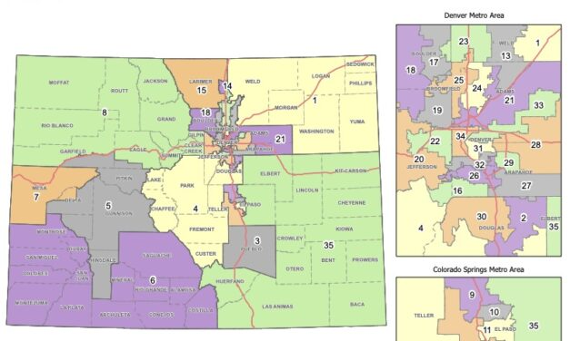 Colorado Independent Legislative Redistricting Commission Adopts Final State House Plan